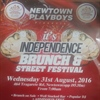 Newtown Playboys presents its Independence Brunch & Street Festival