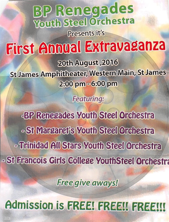 Youth Steelbands hold the spotlight this weekend as Pan Trinbago celebrates Steelband Month