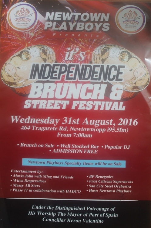 Newtown Playboys Independence Brunch & Street Festival