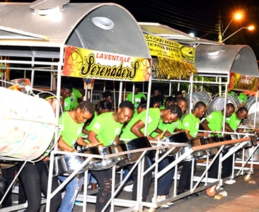 Laventille Serenaders lead small bands finalists