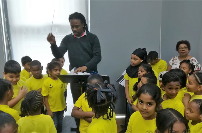 Primary School students visit NSSO