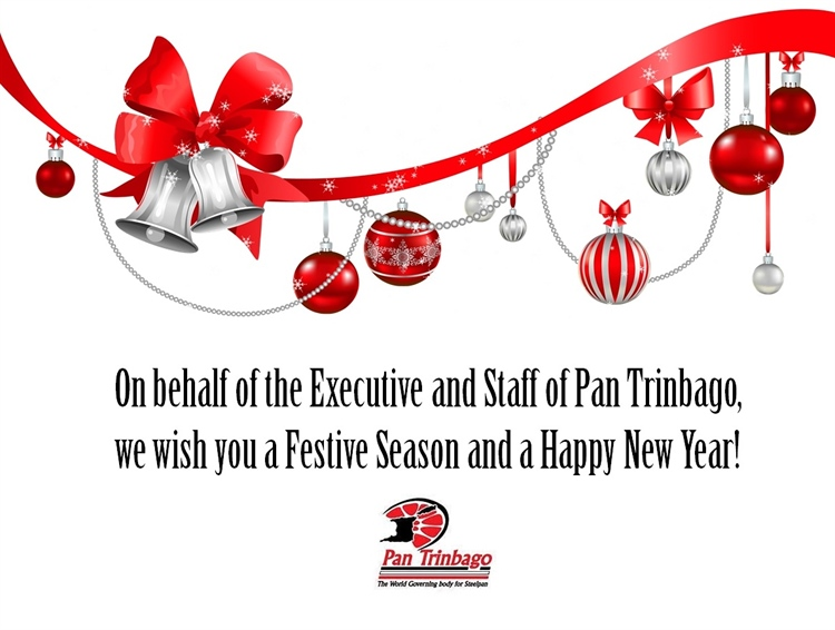 Holiday Greetings from Pan Trinbago