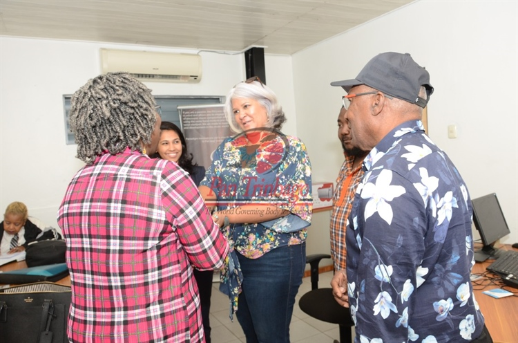 Visit to Pan Factory - An Historic Day for Pan Trinbago's new Executive...