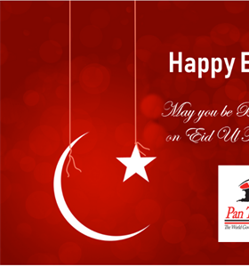 EID GREETINGS FROM PAN TRINBAGO