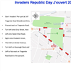 ROUTE FOR SHELL INVADERS REPUBLIC DAY JOURVERT