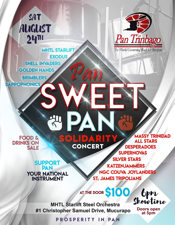 PAN SWEET PAN SOLIDARITY CONCERT
