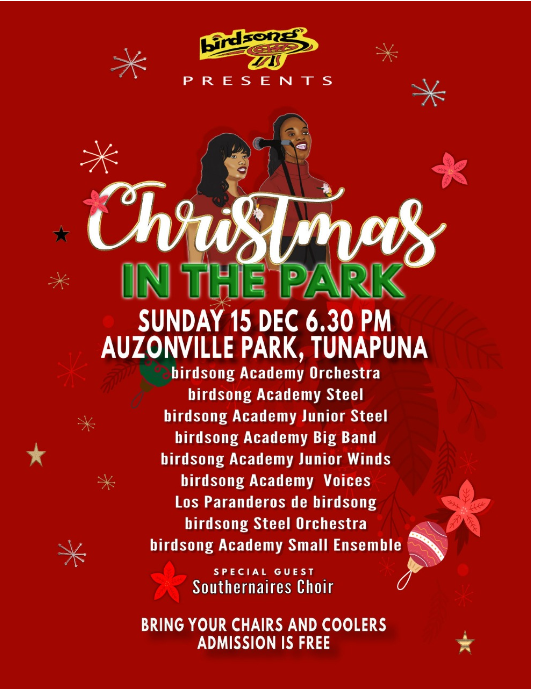 Birdsong presents CHRISTMAS IN THE PARK