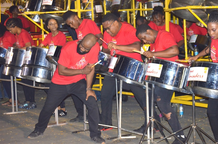 Trinidad Valley Harps and Republic Bank Exodus perform first in their respective categories