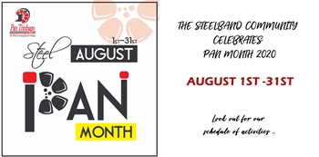 Steelpan Month 2020 Calendar of Events (Revised)