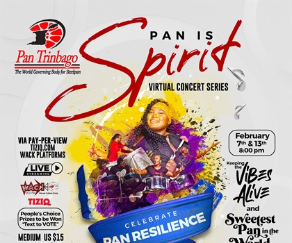PAN IS SPIRIT! - Celebrate Pan Resilience!