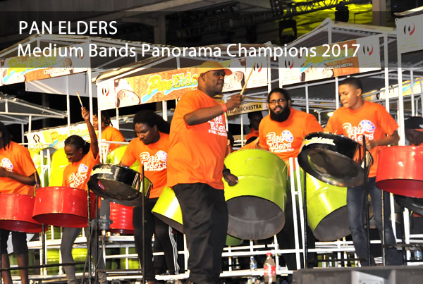 Pan Elders- Medium Bands Champions 2017